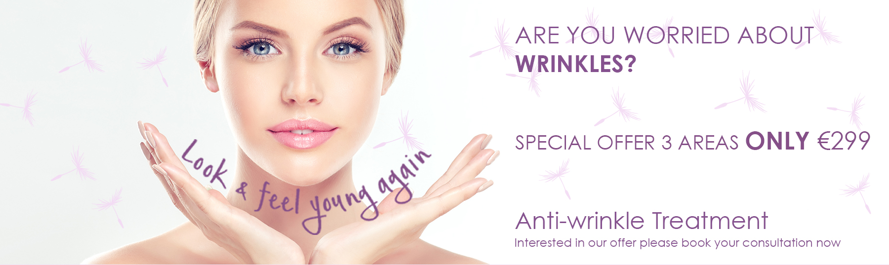 Anti - wrinkle treatments at Gracefield Dental